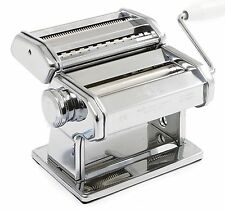 Marcato Atlas Wellness 150 Pasta Machine Noodle Maker Italy 3 Types 9 Settings