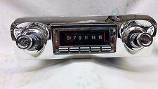 Radio & Fascia suit RHD Aussie 59 & 60 Chev & Pontiac. Built-in Bluetooth 300W.