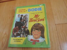 MY THREE SONS DODIE paper dolls doll playset UNUSED Sealed Dawn Lyn 1970