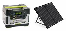 Goal Zero Yeti 400 & Renogy 100W Folding Solar Panel - Complete Package