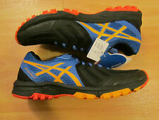 Men's Asics Fuji Attack 5 Trail Running Shoe Size UK 9.5 Colour Black/Blue
