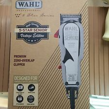 NEW WAHL 5 STAR SENIOR VINTAGE EDITION CLIPPER_PROFESSIONAL BARBER_ 8545-300