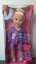"MY LIFE AS BALLERINA DOLL 18"" BLONDE HAIR BLUE EYES MADAME ALEXANDER NEW IN BOX"
