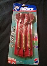 Unicorn SP150 Soft Tip English Darts with Case15 grams NOS Free Shipping