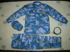 15's China PLA Navy Marines Officer Digital Camo Combat Clothing,Set,Winter.
