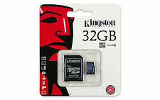 32GB Kingston Micro SD Class 4 SDHC Memory Card MicroSD Smart Phone GoPro