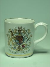 Commemorative Poole Mug PRINCE CHARLES WALES LADY DIANA SPENCER Wedding Marriage