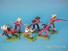 BRITAINS DSG * MEXICAN BANDITS on FOOT (6 figures) * FAR WEST * TOY SOLDIERS 365