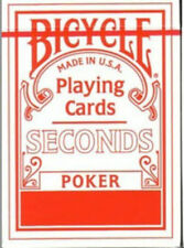 Bicycle Poker Deck Seconds - Red - Playing Cards - Magic Tricks - New