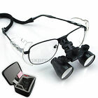3.5x Dental Loupes Loupe Surgical Medical Dentist Nickel Alloy Frame 420mm