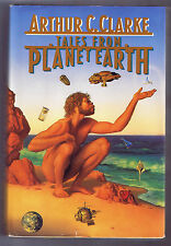 Tales From Planet Earth by Arthur C. Clarke (1990, Hardcover) - Free Shipping!