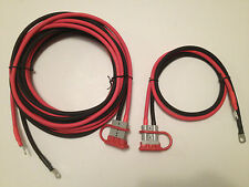 6 GAUGE 24 FT & 3 FT QUICK CONNECT WINCH WIRING KIT, REESE HITCH RECOVERY WINCH