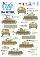 Star Decals 1/35 PANZERKAMPFWAGEN IV AUSF J LATE PRODUCTION VERSIONS