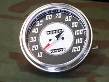 Knucklehead,Panhead,Shovelhead,Fat Bob Speedometer. 2:1 Ratio. 46-47 Style Face