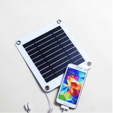 5W Solar Panel solar cell charger for Blackberry,I Phone,Hinking,Caravan,samsung