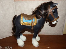 "RARE 14"" large Disney Princess Toddlers Brave Merida Horse Angus doll figure toy"