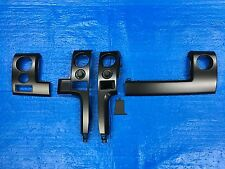 2013 2014 FORD F150 FX4 INSTRUMENT PANEL LEFT & RIGHT SIDE DASH BEZEL TRIM BLACK