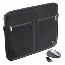 Logitech 15.4-Inch Notebook Sleeve and V220 Cordless Mouse