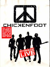 CHICKENFOOT get your buzz on live Digipack DVD NEU OVP