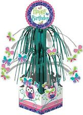 Owl Pal Party Mini Foil Cascade Centrepiece