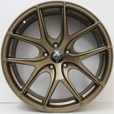 20 inch GENUINE HRS HRE STYLE ALLOY WHEELS SUIT LARGE BRAKES COMMODORE BRONZE