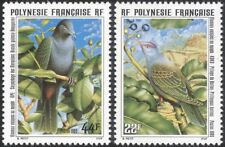 French Polynesia 1995 Dove/Pigeon/Birds/Nature/Wildlife/Conservation 2v (n37512)
