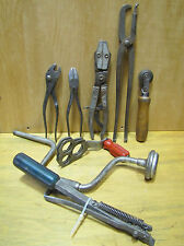 Vintage 1950's Mechanics Tool Lot. Snap-On, K-D, Wrenches Pliers Etc.