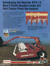 1982 Print Ad of Hesston Hydro Swing Windrower 1014 Farm Tractor