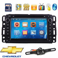 "7"" Double 2 Din Car CD DVD Player GPS Navi BT Stereo Radio for Chevrolet 2007-12"