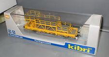 Kibri 26262 Niederbordwagen mit Arbeitsbühne  GleisBau __ Fertigmodell