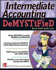 NEW Intermediate Accounting Demystified by Geri B. Wink Paperback Book (English)