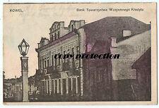 alte Ak 1916 KOWEL Bank Towarzystwa Wzajemnego Kredytu