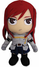 "Fairy Tail - 7.5"" Erza Stuffed Plush Doll Toy brand new"
