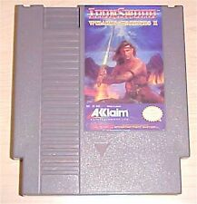 IronSword iron sword Wizards & Warriors II 2 Nintendo NES classic Game cartridge