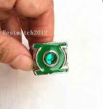Green Lantern Green Gem Ring  US11 in gift box