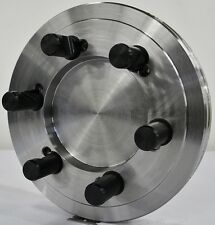 "10-1/2"" Lathe Chuck Adapter Plate D1-8 Spindle Mount Taper 1-3/8"" Thickness USA"
