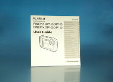 Fujifilm finepix xp150/160 xp100/110 instrucciones manual mode d 'emploi - (1417)
