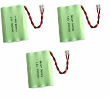 3 NiMH 3.6V Cordless Phone Battery For Uniden BT1005 BT-446 BT446 BT-1005 DCT646