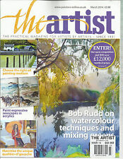 THE ARTIST'S MAGAZINE, MARCH, 2014 (THE PRACTICAL MAGAZINE FOR ARTISTS BY ARTIST