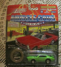 Johnny lightning diecast car limited edition 1969 olds 442 series 6  # 02705