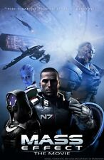 POSTER MASS EFFECT GAME SHEPARD KIRRAE MOREAU PS3 XBOX 360 2 3 N7 N 7 PC PS #9