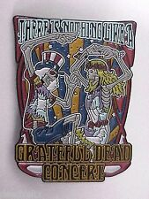 10 PACK (wholesale)  THERE IS NOTHNIG LIKE A GRATEFUL DEAD CONCERT 1 3/4 in PIN