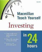 Alpha Teach Yourself Investing in 24 Hours Little, Kenneth E. Paperback