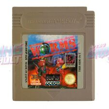 Worms NINTENDO GAME BOY PAL [Cart Only] [GC] Strategy Turn-Based Artillery RGV