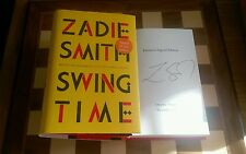 Swing Time EXCLUSIVE SIGNED Zadie Smith Hardback 2016 1st edition 1st impression