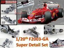 1/20 Ferrari F2003-GA Super Detail set for the Fujimi kits ~ Top Studio 29013