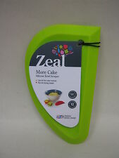 New Cks Zeal Silicone Mixing Bowl Dish Baking Scraper Large Lime Green J225