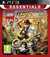 Lego Indiana Jones 2 Essentials PS3 * NEW SEALED PAL *