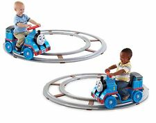 Fisher Price Kids Ride On Train Track Toddler Toy Push Button Control Drive Gift