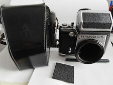 Pentacon Six TL medium format 6X6 camea, body and electronic prism only